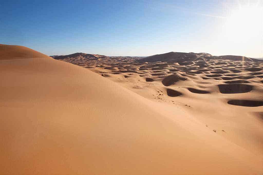 Toutes les dunes majestueuses d'Erg Chebbi et d'Erg Chagaga (6 jours)