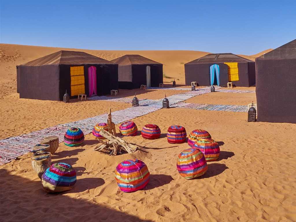 Tour de la majesté du désert (5 jours)