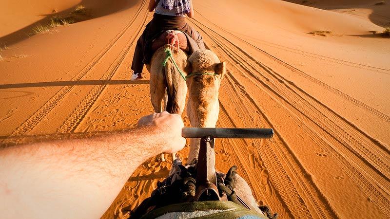 Fès, l'Erg Chebbi, la vallée du Dadès et les gorges, Marrakech (4 jours)