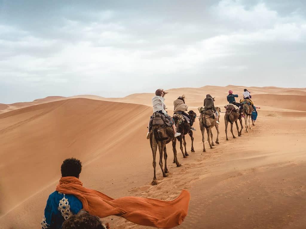 Gorges du Dadès et du Toudgha, majestueux Erg Chebbi, Agadir (4 jours)