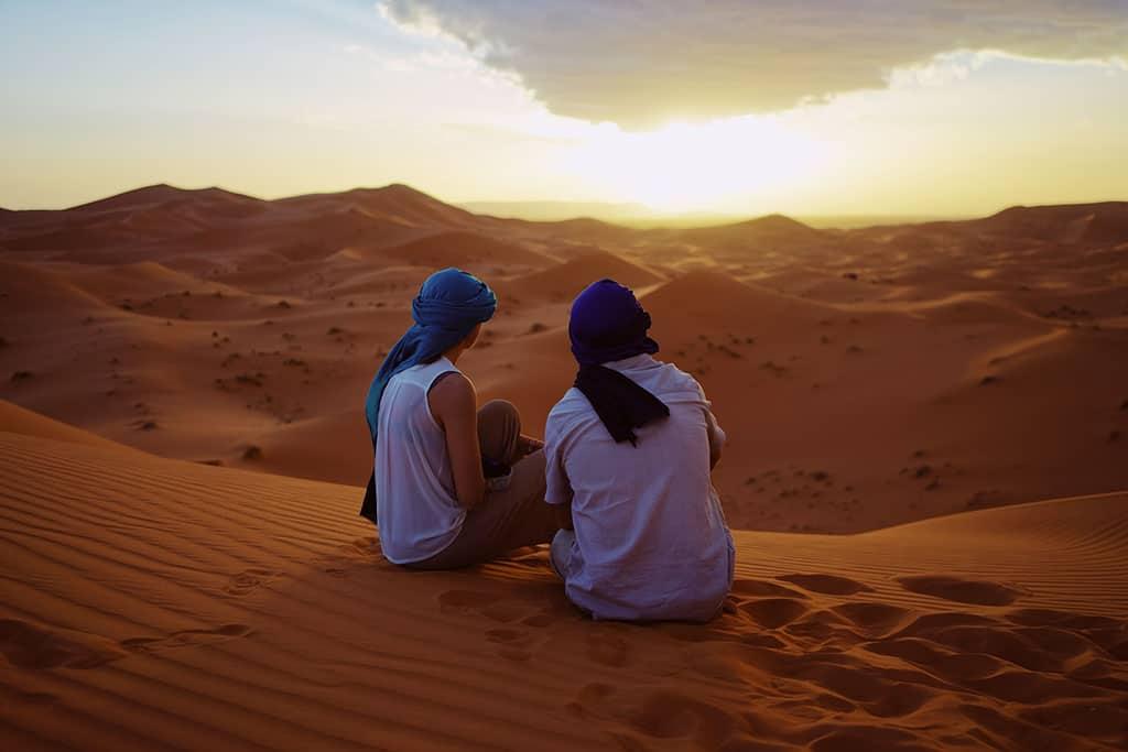 Majestueuses dunes D'Erg Chebbi Merzouga (3 jours)