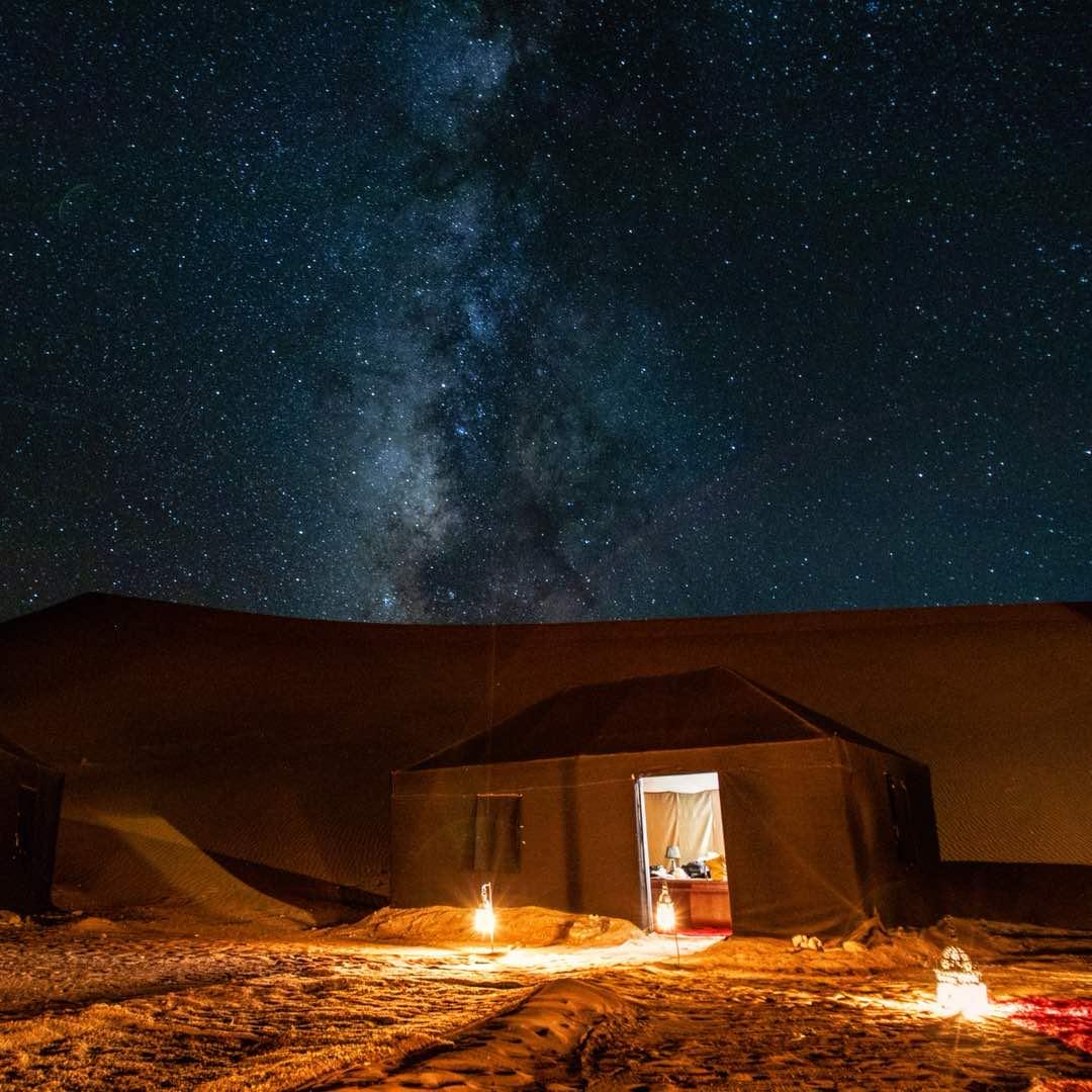 Marrakech, Gorges du Dadès, Erg Chebbi cameltrek, Fès (5 jours)