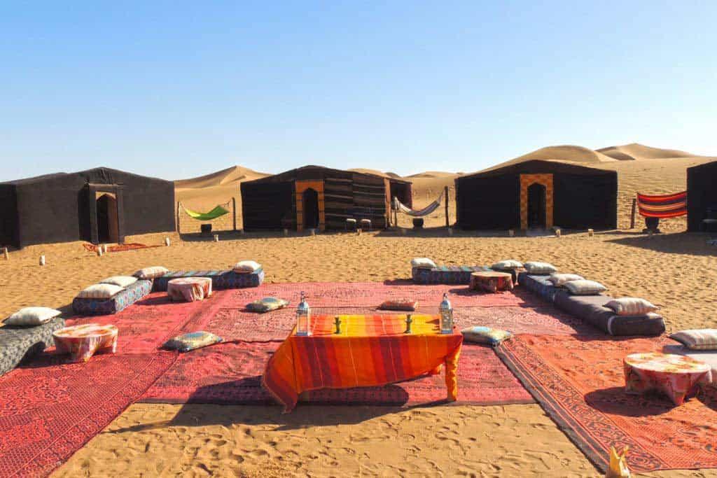 Vallée de Draa, Zagora, dunes de Mhamid (2 jours)