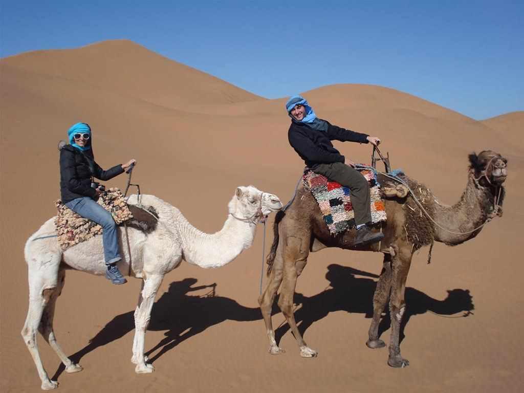 Marrakesh, Dadesschlucht, Chebbikameltreck, Fes (5 Tage)