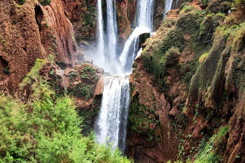 Erg Chebbi Sanddünen, Seen, Wasserfälle (5 Tage)