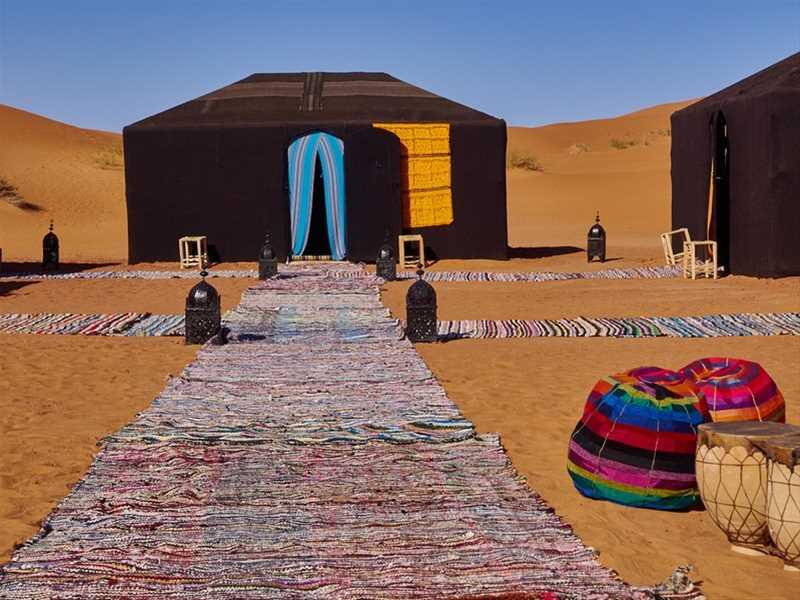Fes, Erg Chebbi dunes Merzouga, Dades Gorges, Marrakesh – 4 days