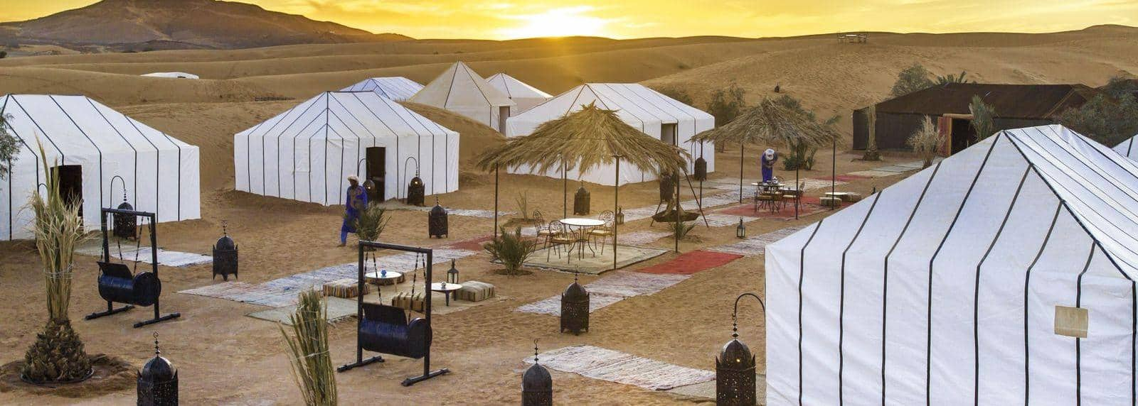 Luxury desert camp morocco